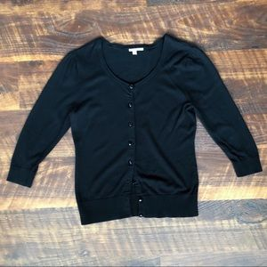 Halogen | 1/2 sleeve sweater | small